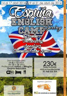 Campamento bilingüe Sierra Espuña